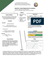 Metodos de Muestreo y Caracterizacion de Un Mineral