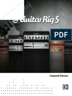 Guitar Rig 5 Components Reference Spanish