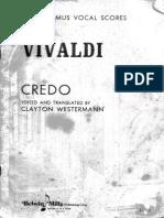 Credo Vivaldi