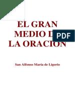 El Gran Medio de La Oracion San Alfonso Maria de Ligorio