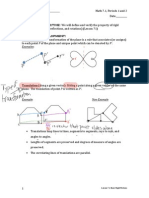 lesson 71- basic rigid motions