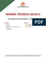 NT 05_2014 - Segurança Contra Incêndio - Urbanística