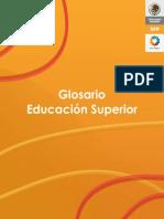 . SEP Glosario Educacion