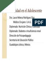 Obesidad Adolescente