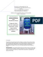 cisterna sustentavel