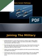 military career pathway