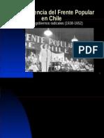Contexto Frente Popular en Chile