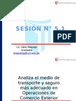 Sesión 5.1 Régimen de Exportación