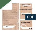 Tabla de Conversion (Imprimir)