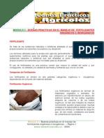 BPA en El Manejode Fertilizantes Organicos e cos