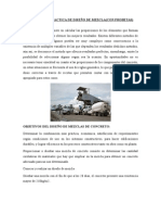 Informe de Diseño de Mezcla