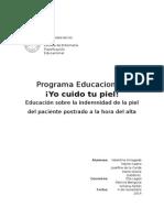 Informe planificación educacional UPP