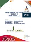 MANEJO AMBIENTAL EN EL PROCESO DE MINADO EN MINERA LA ZANJA S.R.L