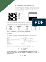 Basic Definitions & Terminology in Soil Mechanics