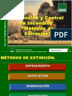 Metodos de Extincion de Incendios