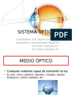 Optica en Oftalmologia