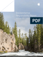 Apple Environmental Responsibility Report 2015