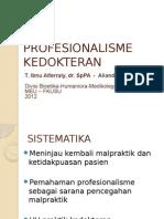 BHP Professionalisme Kedokteran