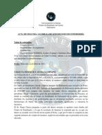 Acta 2da Asamblea Carrera 2015