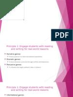 teaching genre