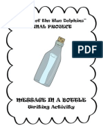Island of the Blue Dolphins Message in a Bottle Writing Activity