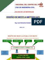 Diseño Mezcla Aci Fic-uncp-2015