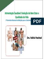 Palestra Da Dra. Valeria Paschoal Seminario SERCOPAR