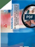Manual Técnico de Hemovigilancia en Bancos de Sangre y Servicios de Medicina Transfusional