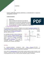 Unidad III(Ecuaciones Parametricas) Mate3