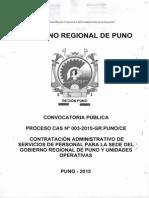 Proceso 003 2015 Cecas