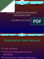 PENYALAHGUNAAN  PSYCHOACTIVE.ppt