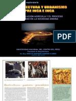 La Revolución Agrícola y El Proceso Urbano en La Sociedad Andina
