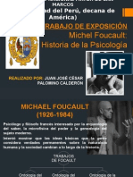 Michelfoucault Aportealahistoriadelapsicologa 140712230656 Phpapp01