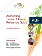 Accounting Terms a Quick Reference Guide