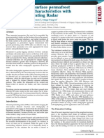 Imaging Near-surface Permafrost Structure and Characteristics With Ground-Penetrating Radar