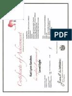 level 8 registry certificate