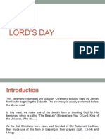 CFC Lord's Day Celebration