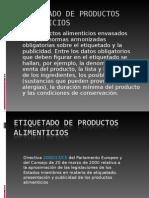 ETIQUETADO DE PRODUCTOS ALIMENTICIOS.ppt