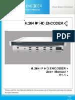 JXDH-6202â…¢SHM H.264 IP HD Encoder