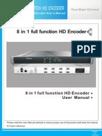 JXDH-6202QHX(M) 8 in 1 Full Function HD Encoder
