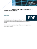 2010039-Considerations When Deploying Ethernet Layer 2 Switches-August 2010