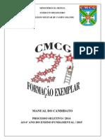 Manual Do Candidato 2014