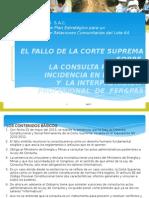Analisis Consulta Previa - Poder Judicial - Lrg - 19 Ago 2013