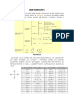 Hidrocarburos Alcanos, Alquenos y Alquinos