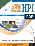 Jurnal HPI Vol 23 No 2_Oktober 2010