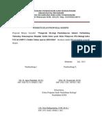 Persetujuan Proposal Skripsi