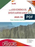 GEOLOGIA ECONOMICA DEL DEPOSITO AURIFERO ALPACAY