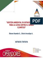 GESTIÓN AMBIENTAL EN XSTRATA TINTAYA PARA LA LUCHA CONTRA EL CAMBIO CLIMÁTICO