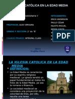 La Iglesia Católica en La Edad Media