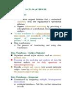 Data Mining-Data Warehouse